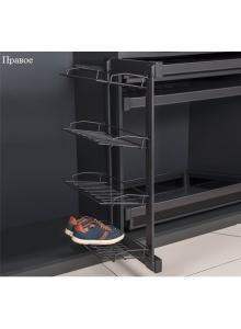 Полиця бокова для взуття 4-рівнева права S-6822