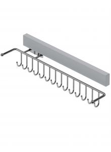 Тримач для ременів висувний лівий, хром S-6065