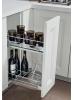 Карго выдвижное 300мм 2-х уровневое с держ. для бутылок Vibo