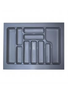 Лоток для столових приборів, пластик в секцію 700 сірий, S-2288-G