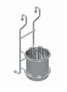 РС чашка для ложок\виделок хром, S-4110