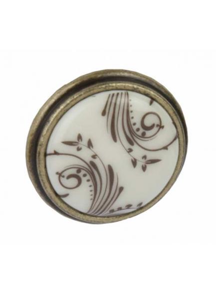 Ручка меблева Giusti РГ 514, кнопка